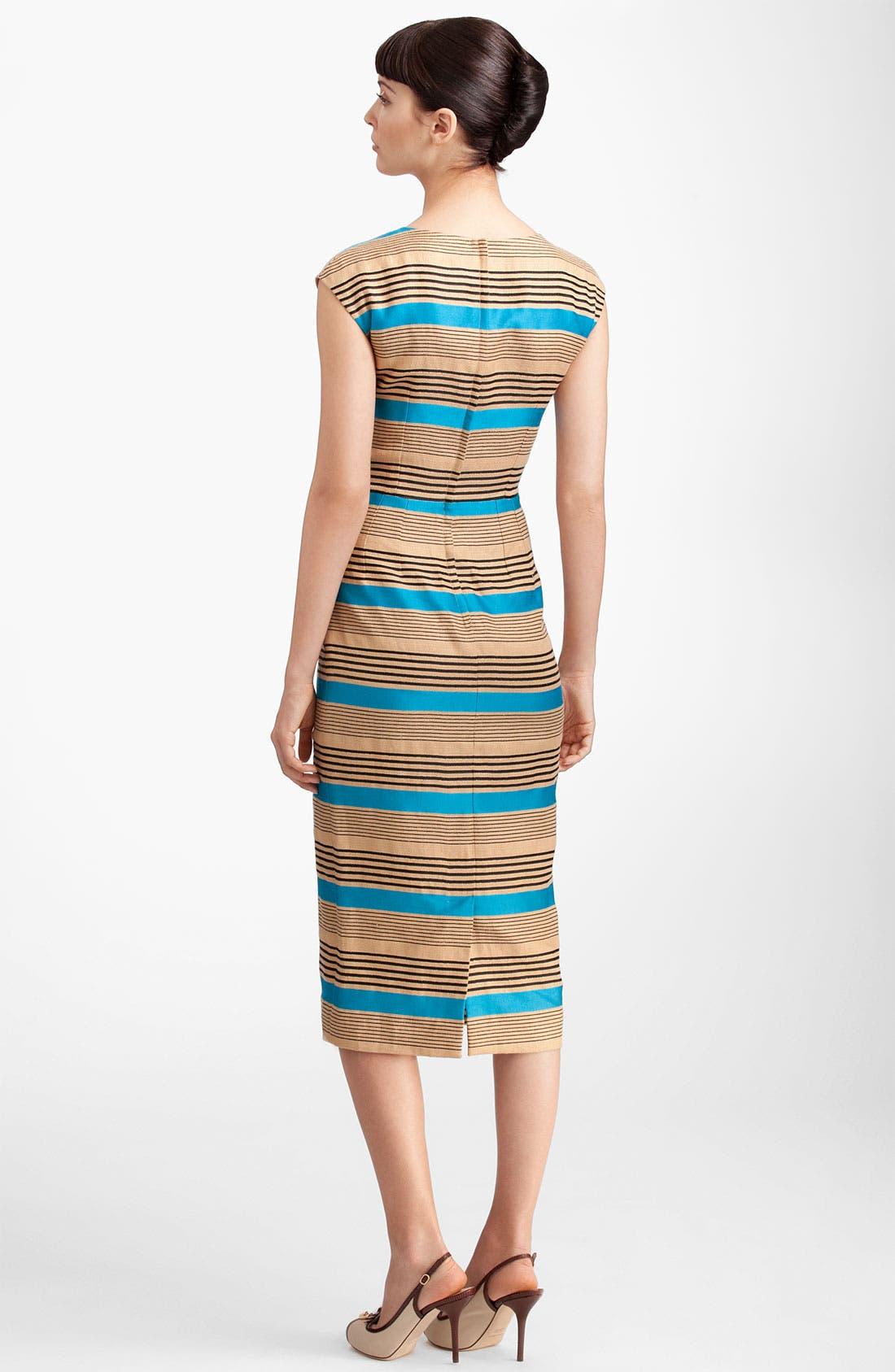 Alternate Image 2  - Dolce&Gabbana Multi Stripe Dress