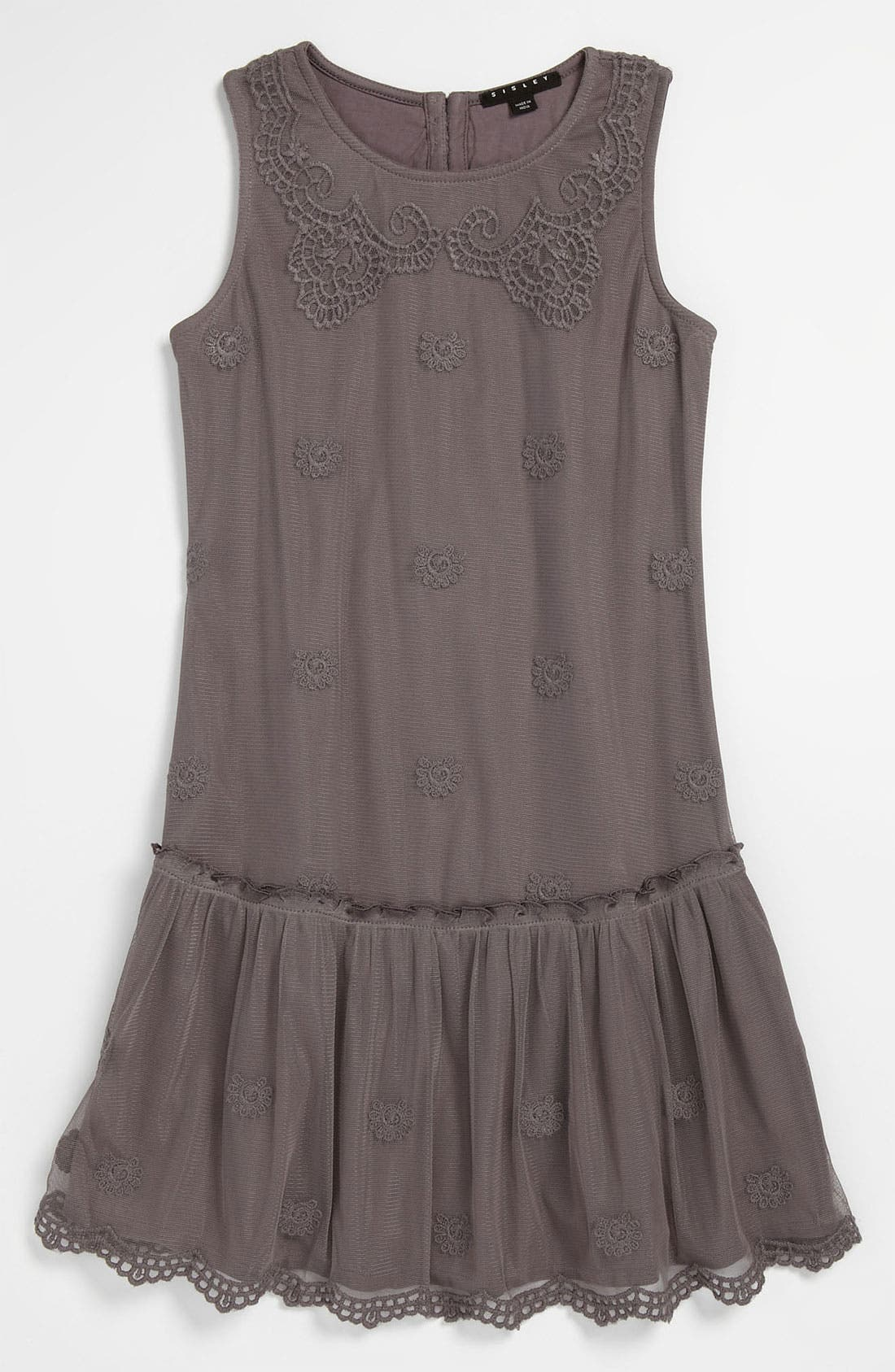 Alternate Image 1 Selected - Sisley Young Drop Waist Dress (Big Girls)