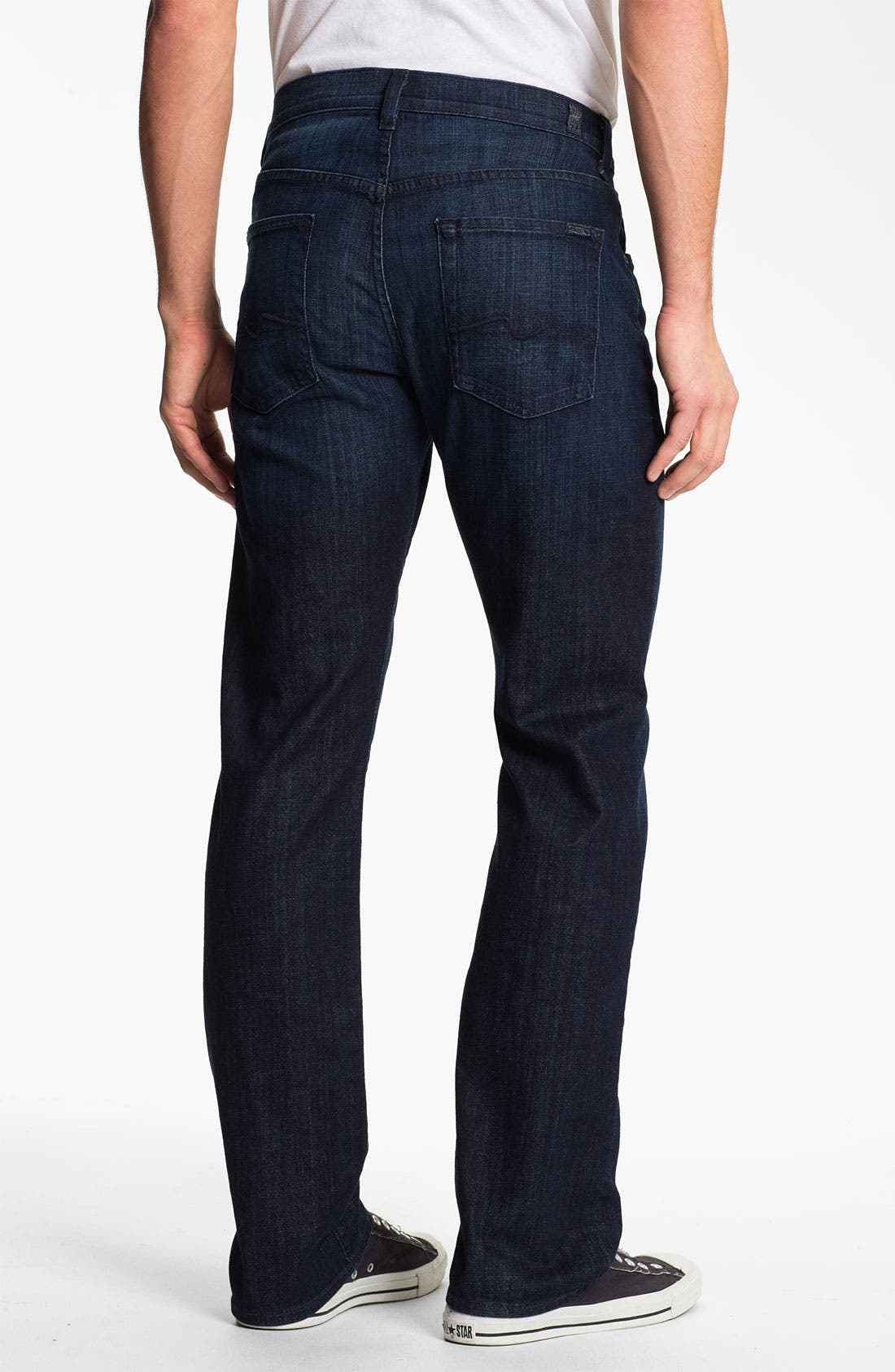 Main Image - 7 For All Mankind® 'Carsen' Easy Straight Leg Jeans (Rose Avenue)