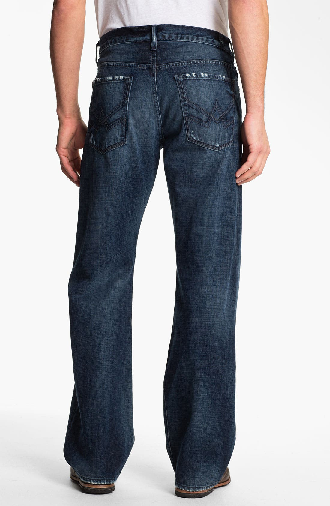 Alternate Image 1 Selected - 7 For All Mankind® Relaxed Fit Jeans (Kool Nite)
