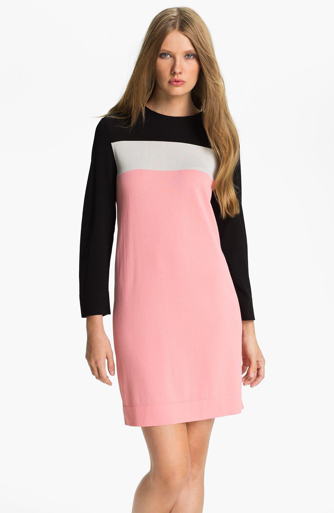 Alternate Image 1 Selected - Diane von Furstenberg 'Diana' Knit Shift Dress