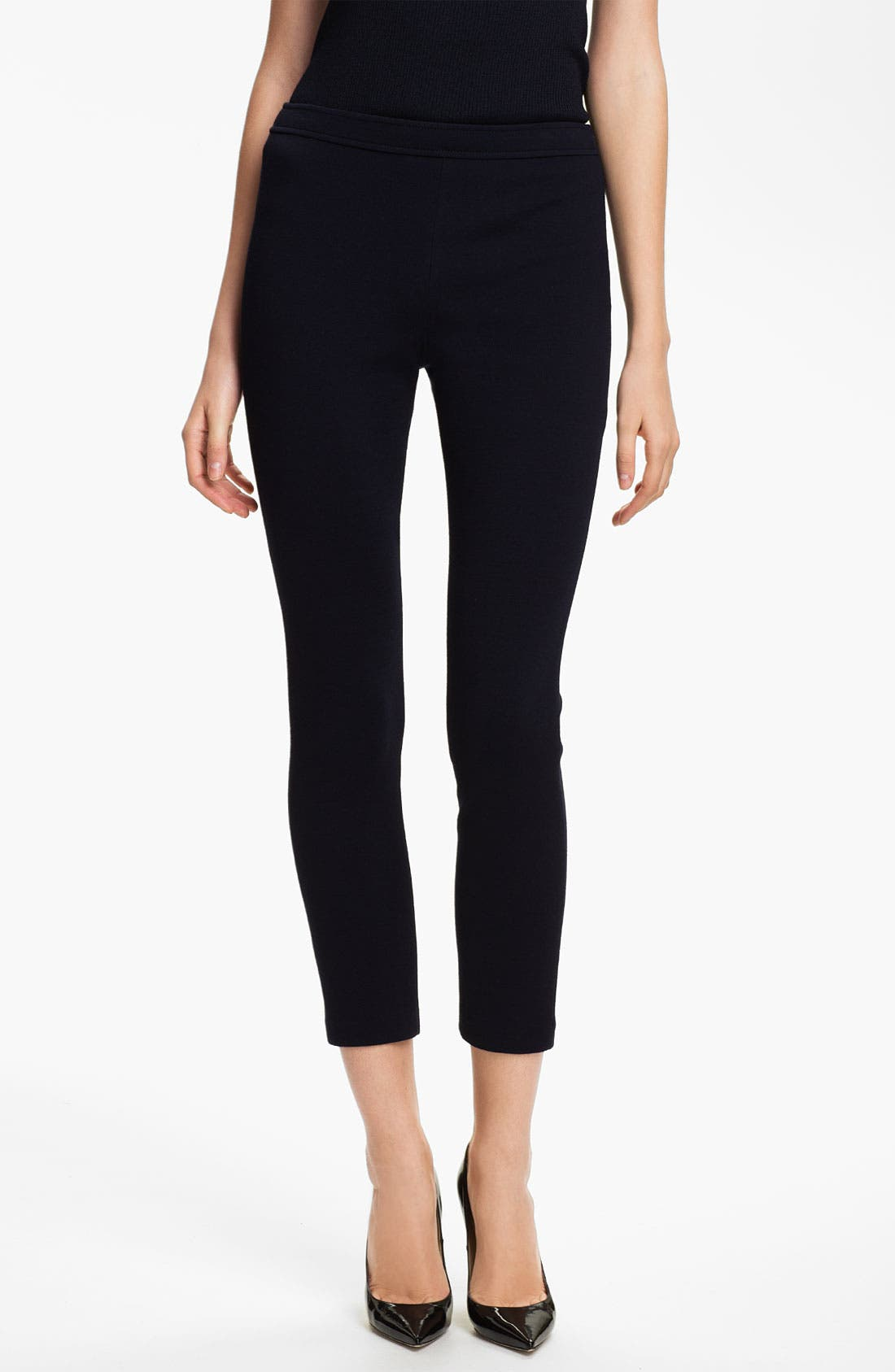 Alternate Image 1 Selected - St. John Collection 'Alexa' Stretch Milano Knit Ankle Pants