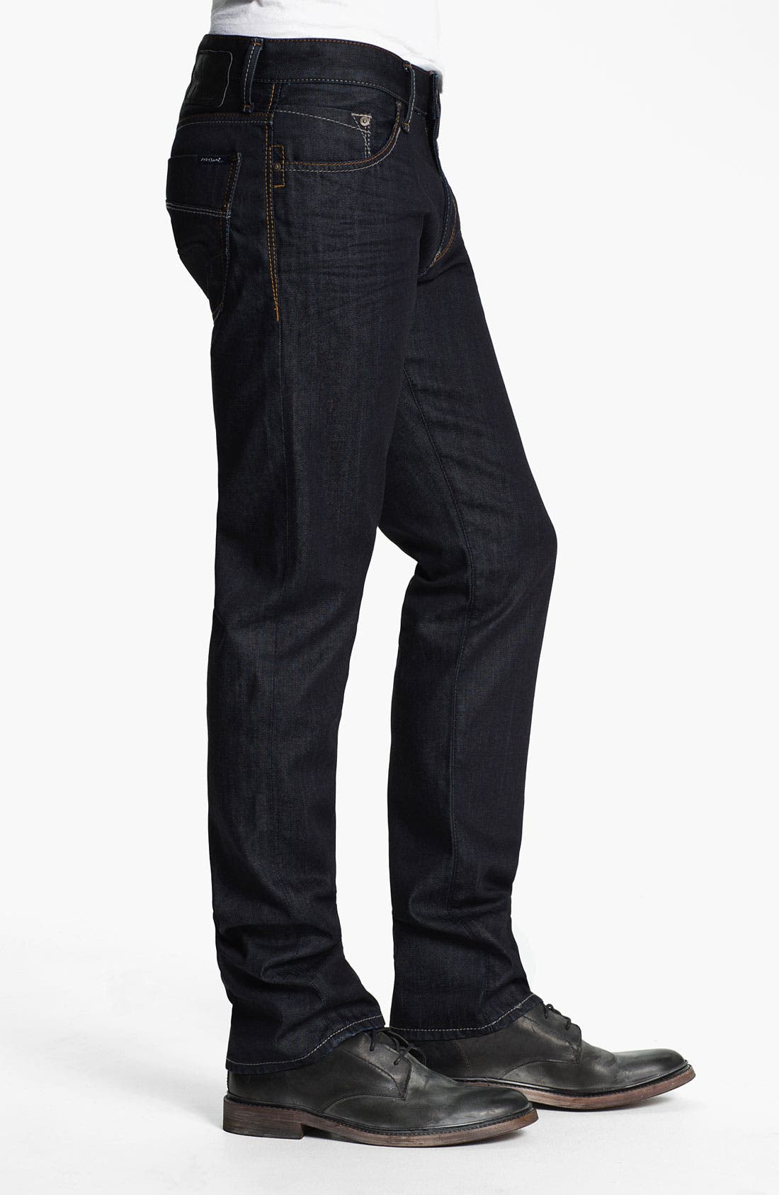 Alternate Image 3  - Mavi Jeans 'Zach' Straight Leg Jeans (Rinse Jameson)