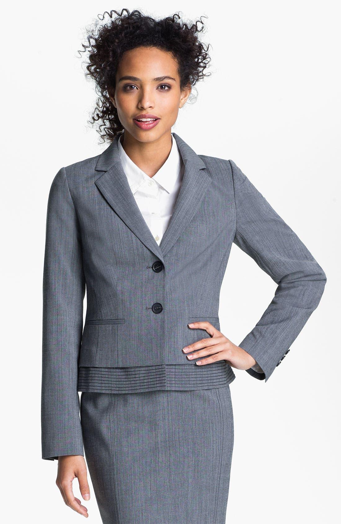 Alternate Image 1 Selected - Halogen® Cross Dye Jacket