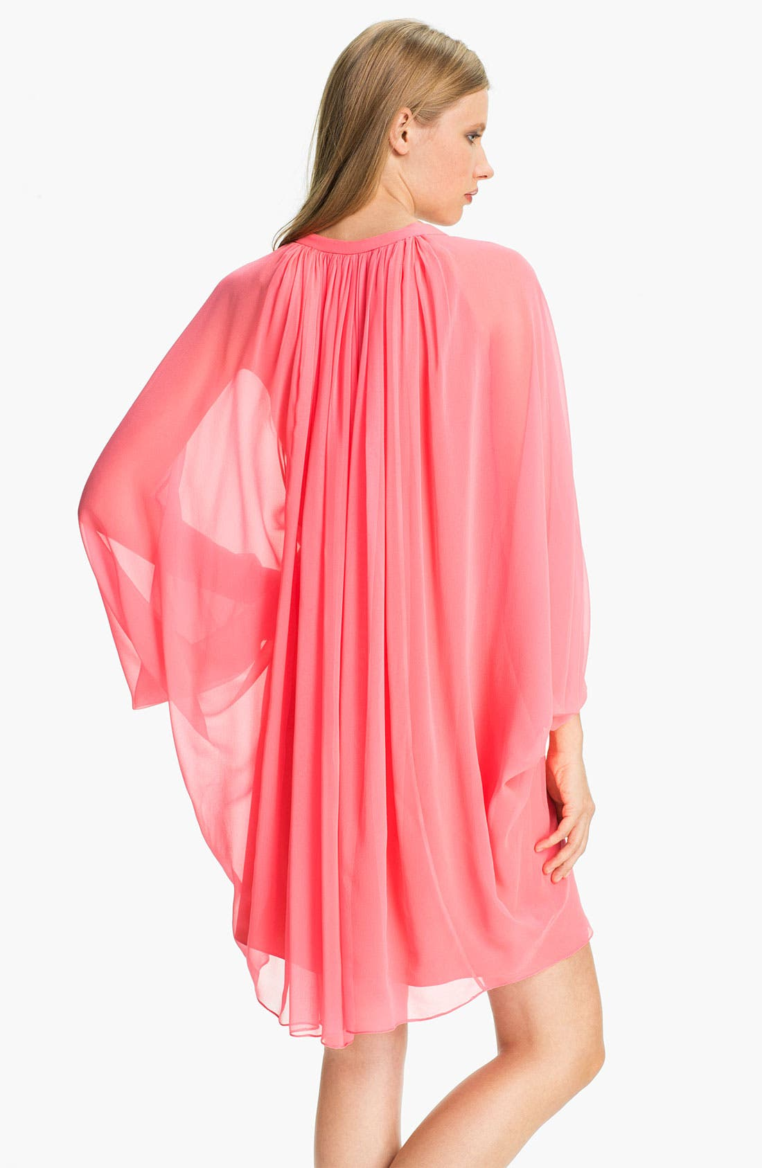Alternate Image 2  - Diane von Furstenberg 'Fleurette' Silk Caftan Dress