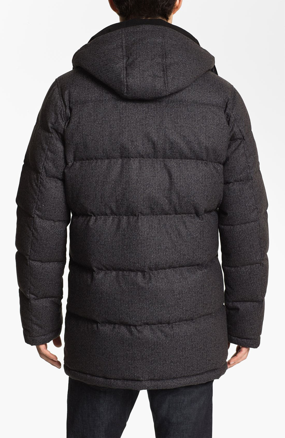 Alternate Image 2  - Vince Camuto Quilted Down & Feather Anorak