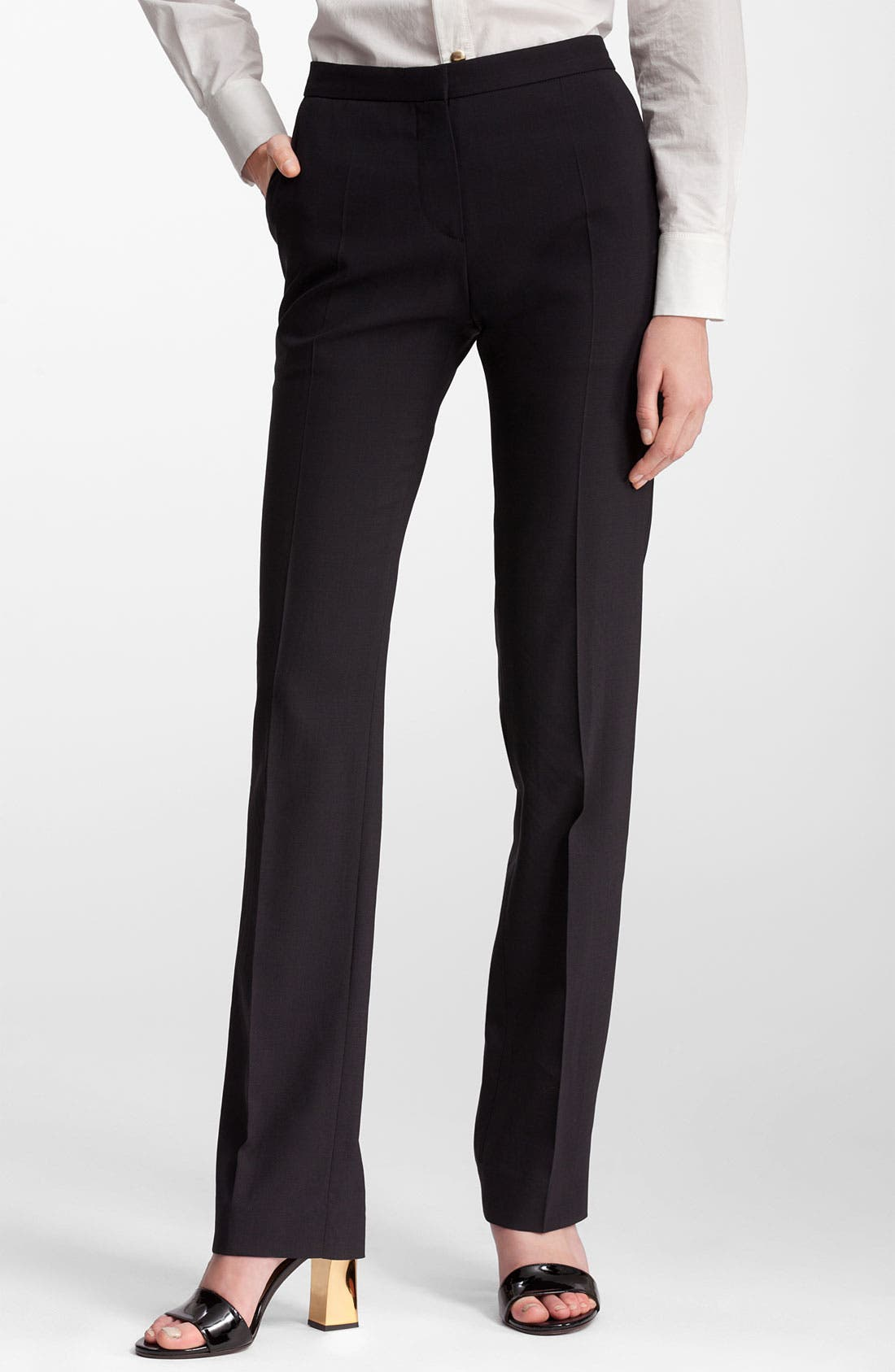 Alternate Image 1 Selected - Marni Straight Leg Wool Pants