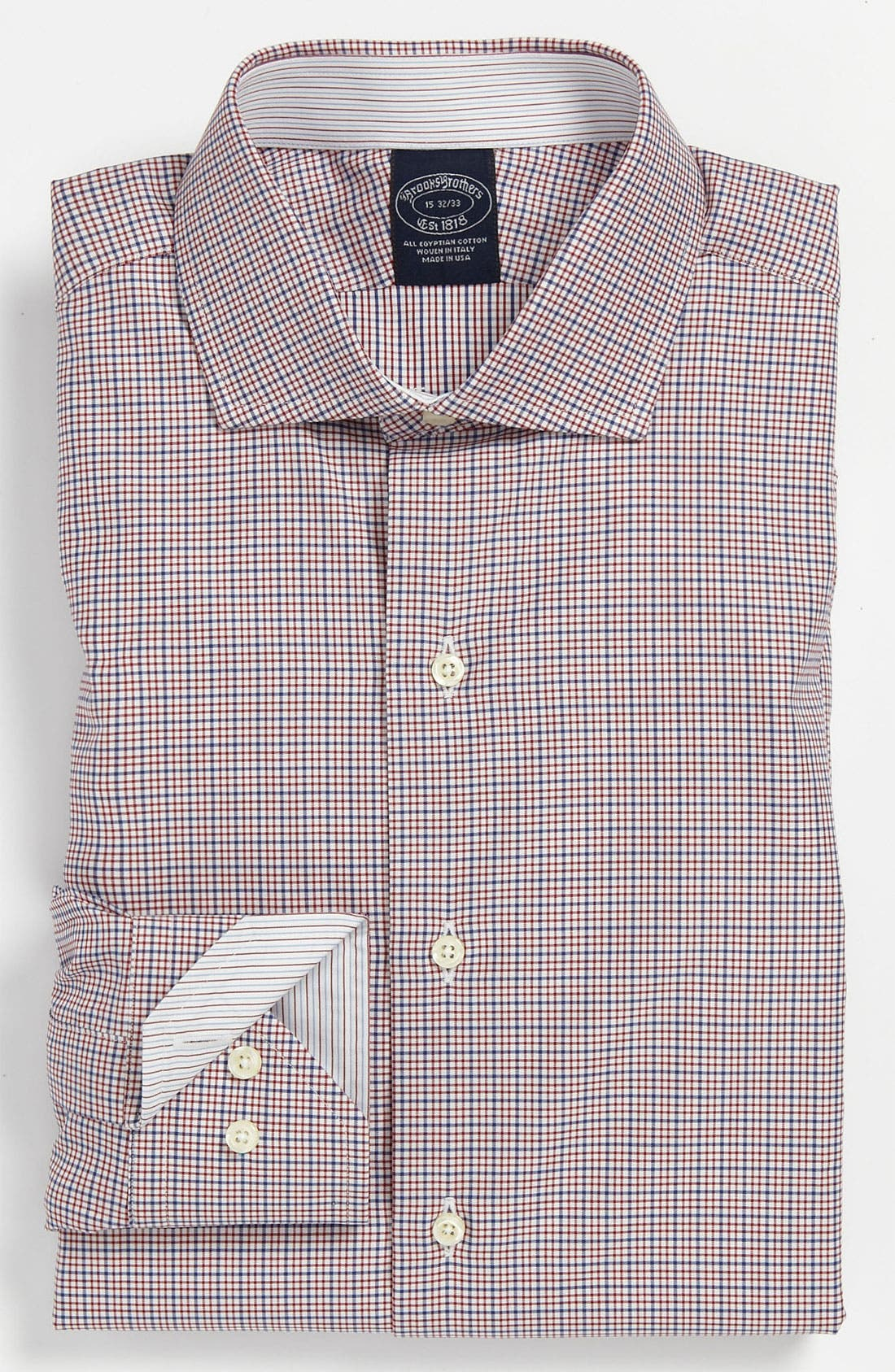 Alternate Image 1 Selected - Brooks Brothers Regular Fit Dress Shirt