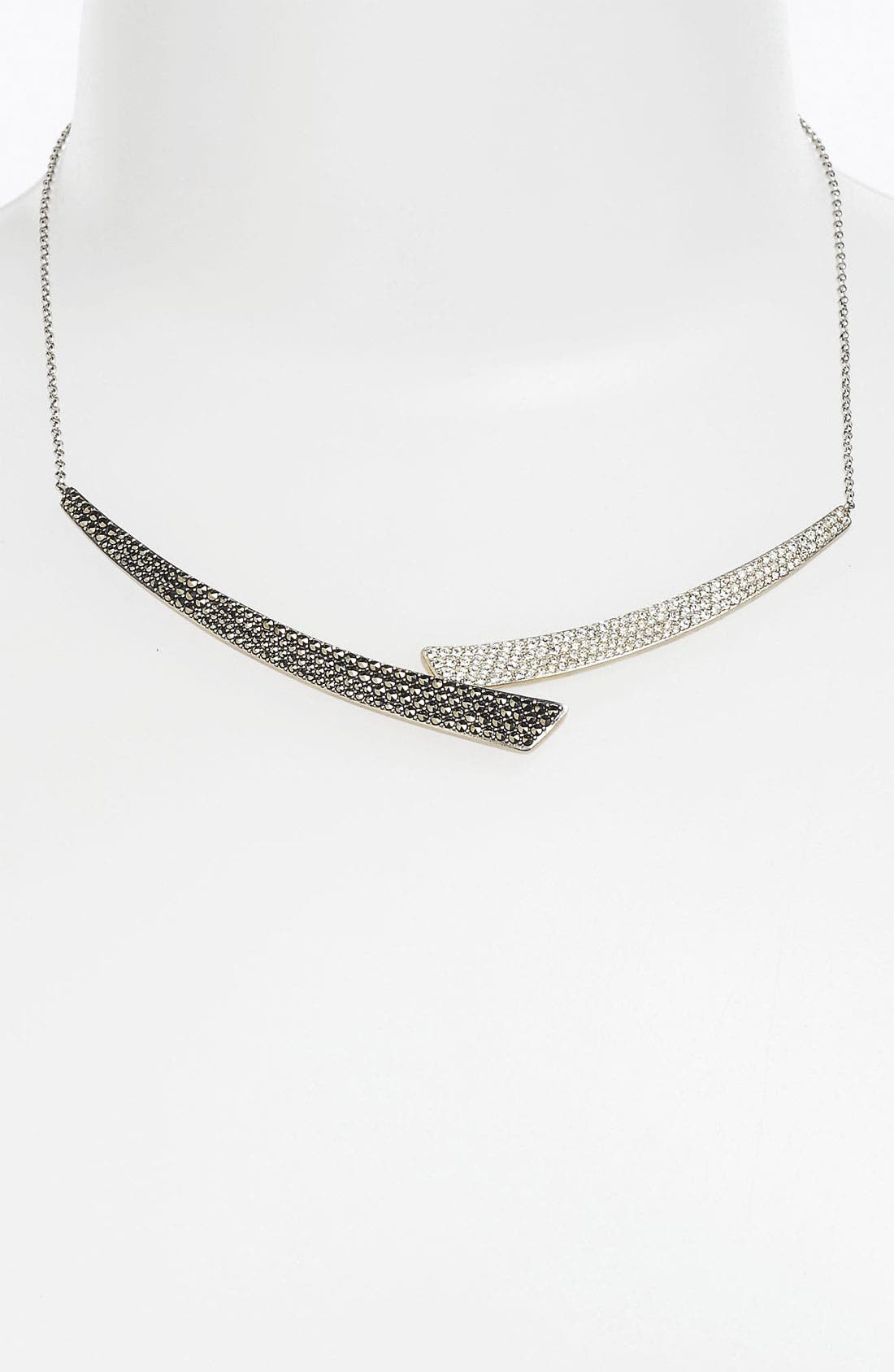 Alternate Image 1 Selected - Judith Jack 'Crystal Glitz' Collar Necklace