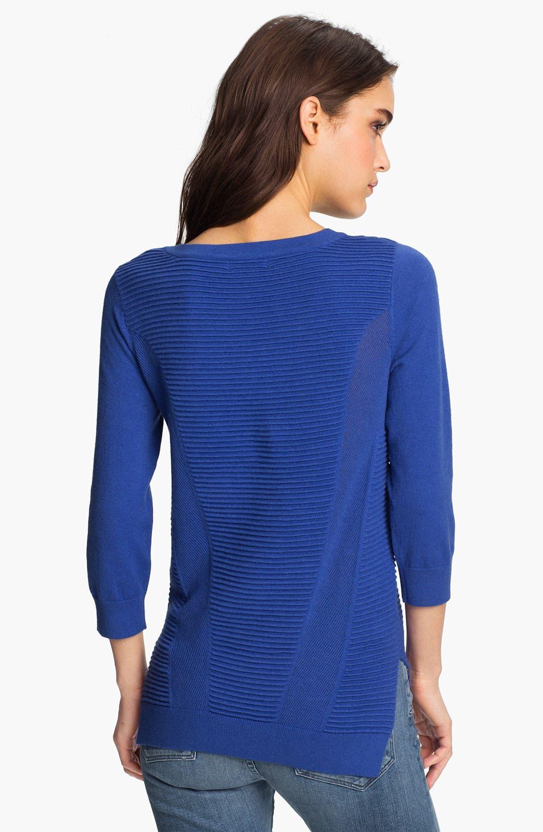 Alternate Image 2  - Trouvé Rib Panel Sweater