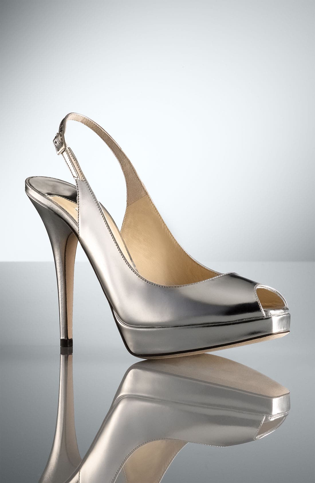 Alternate Image 5  - Jimmy Choo 'Clue' Slingback Peep Toe Pump