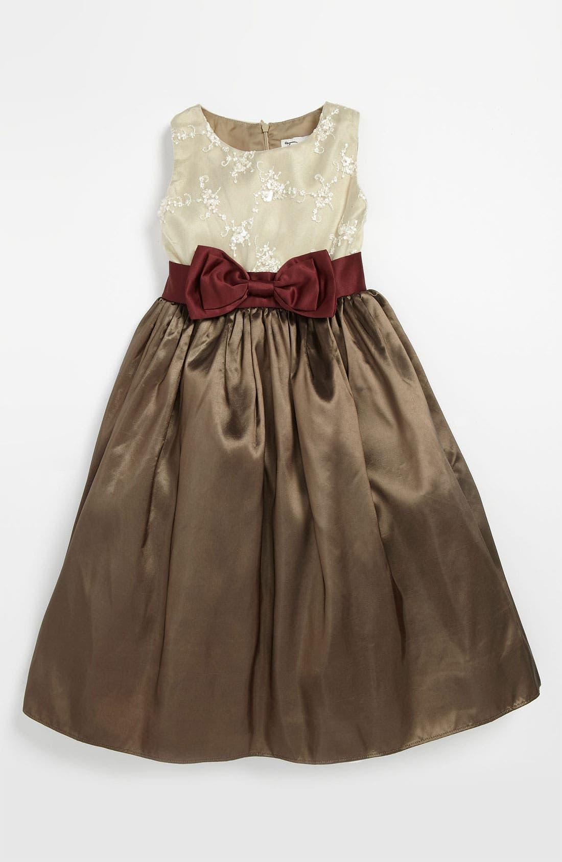 Alternate Image 1 Selected - Dorissa 'Veronica' Taffeta Dress (Little Girls)