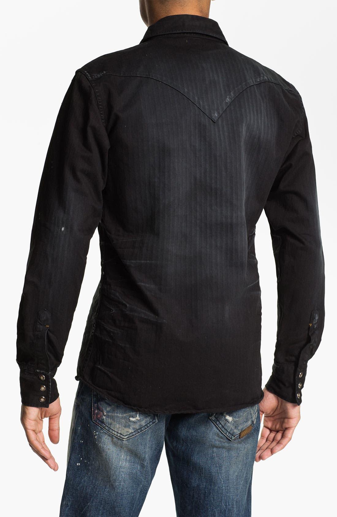 Alternate Image 2  - PRPS Washed Western Shirt