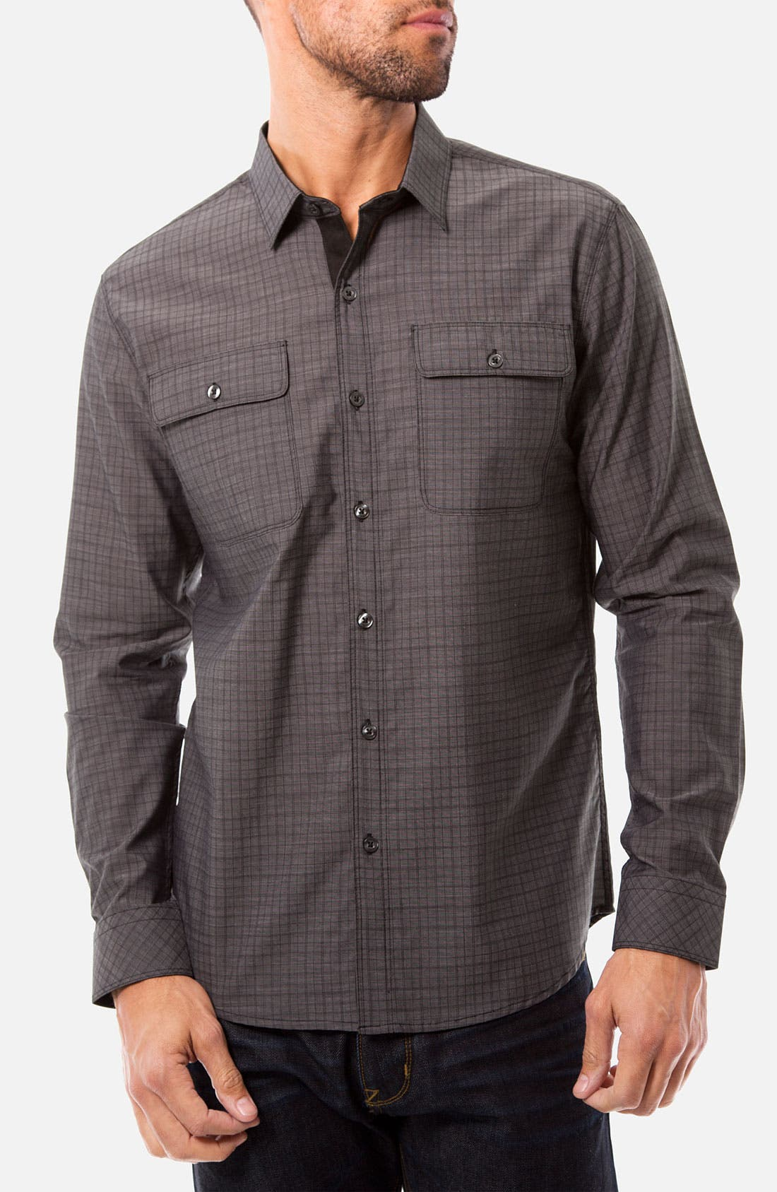 Alternate Image 1 Selected - 7 Diamonds 'Youth Without Youth' Woven Sport Shirt