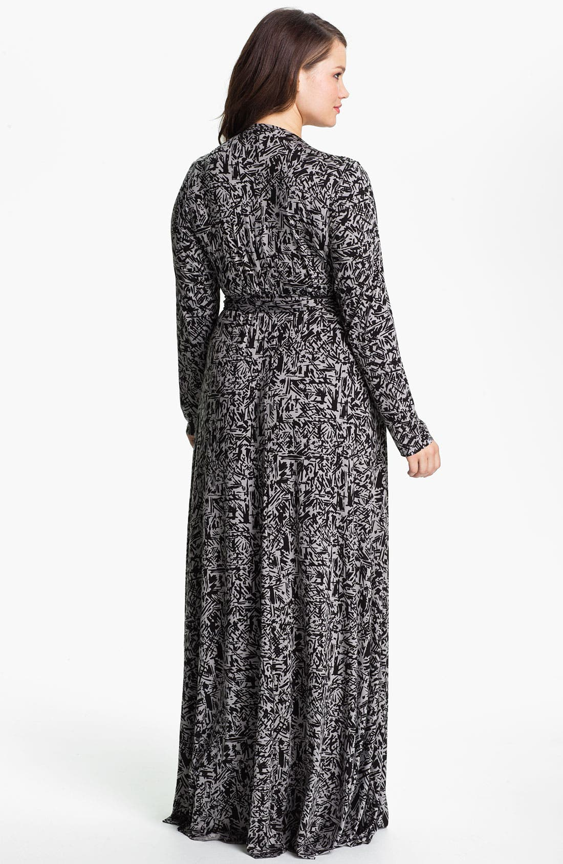 Alternate Image 2  - Rachel Pally Long Wrap Dress (Plus)