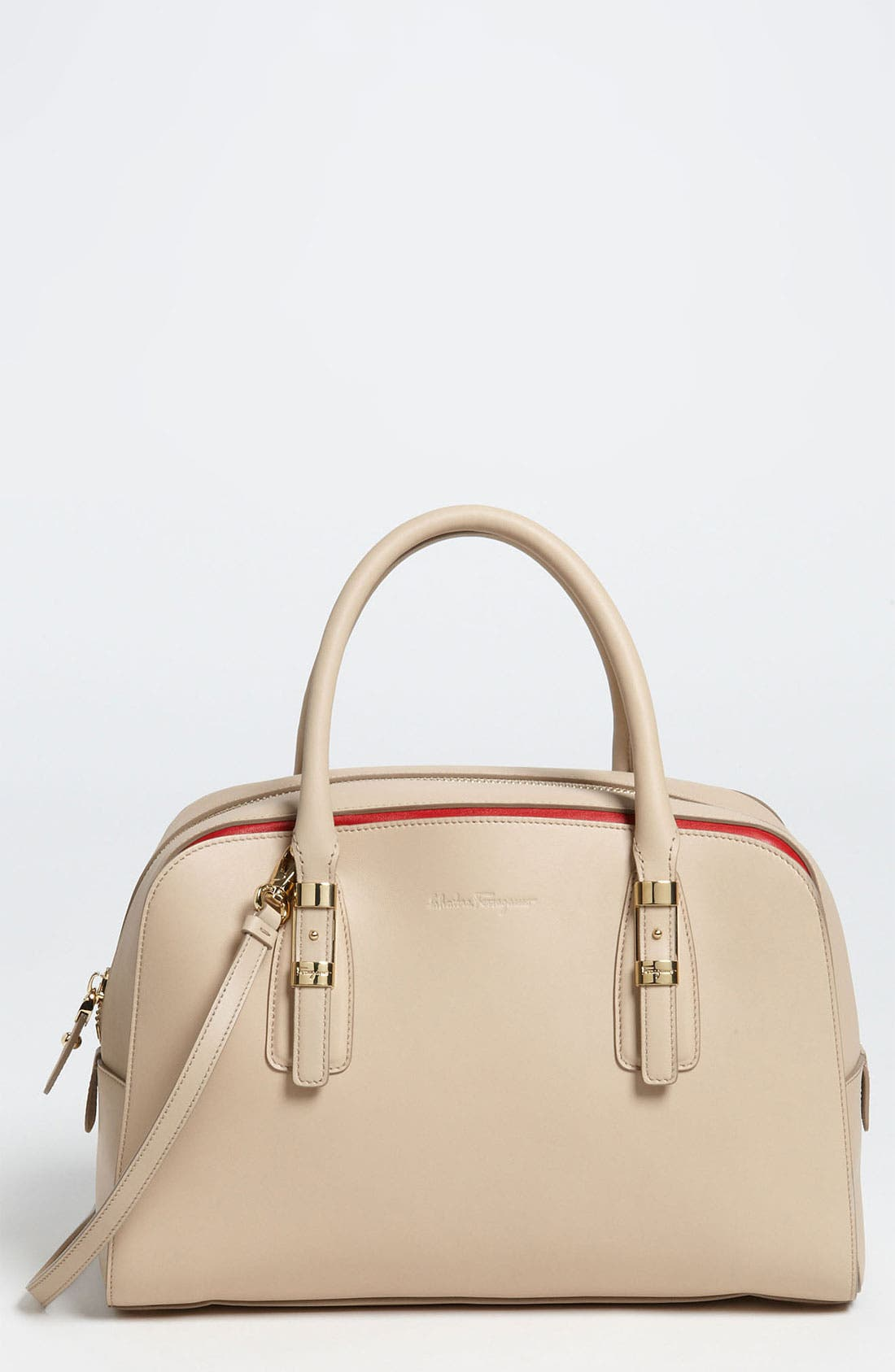 Alternate Image 1 Selected - Salvatore Ferragamo 'Emmy - Small' Leather Crossbody Bag