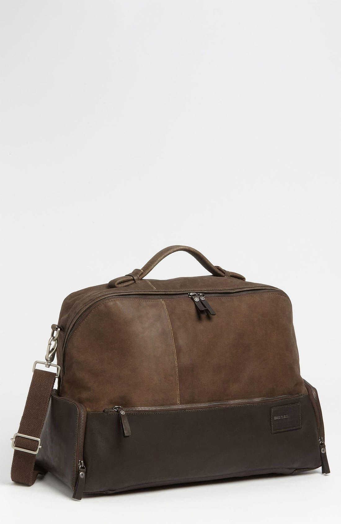 Alternate Image 1 Selected - DIESEL® 'Mad Words - VI8' Duffel Bag