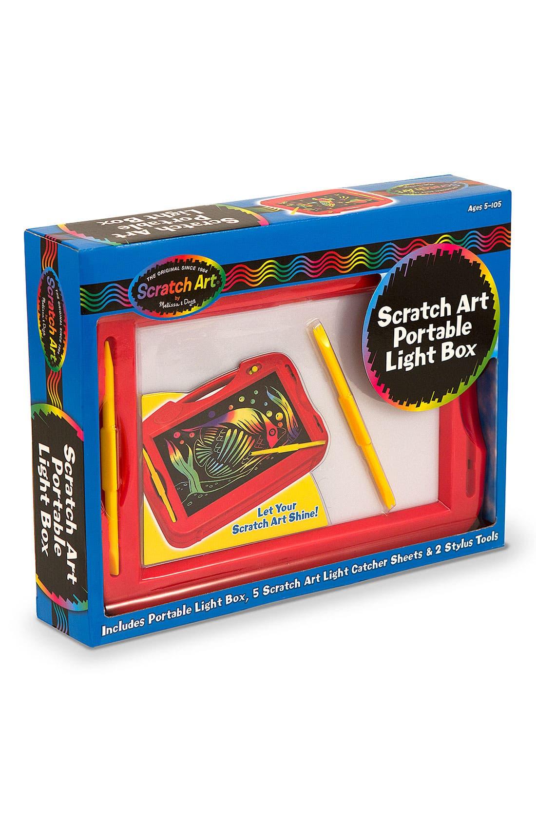 Alternate Image 1 Selected - Melissa & Doug 'Scratch Art' Portable Light Box