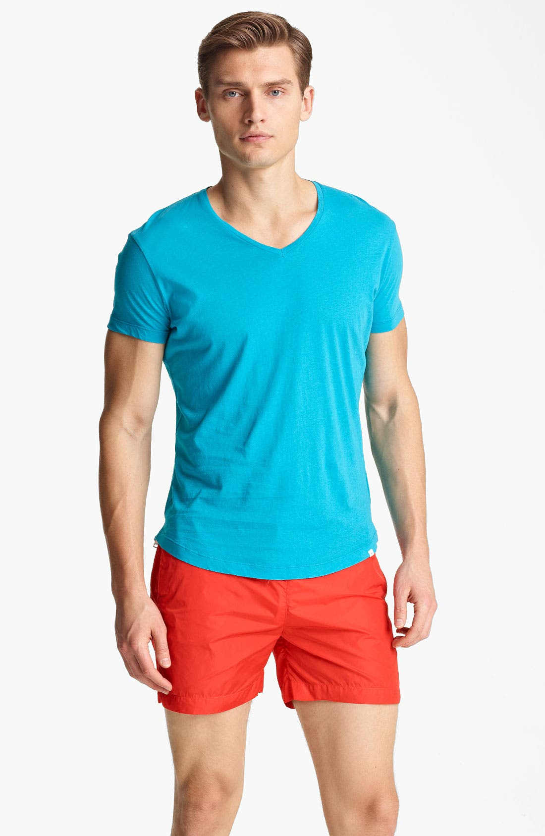 Alternate Image 1 Selected - Orlebar Brown 'Bobby' V-Neck T-Shirt