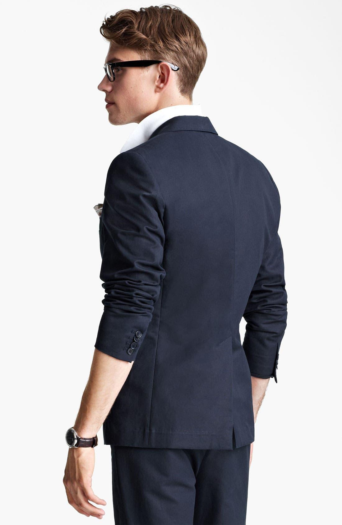 Alternate Image 2  - Shipley & Halmos Cotton Blazer