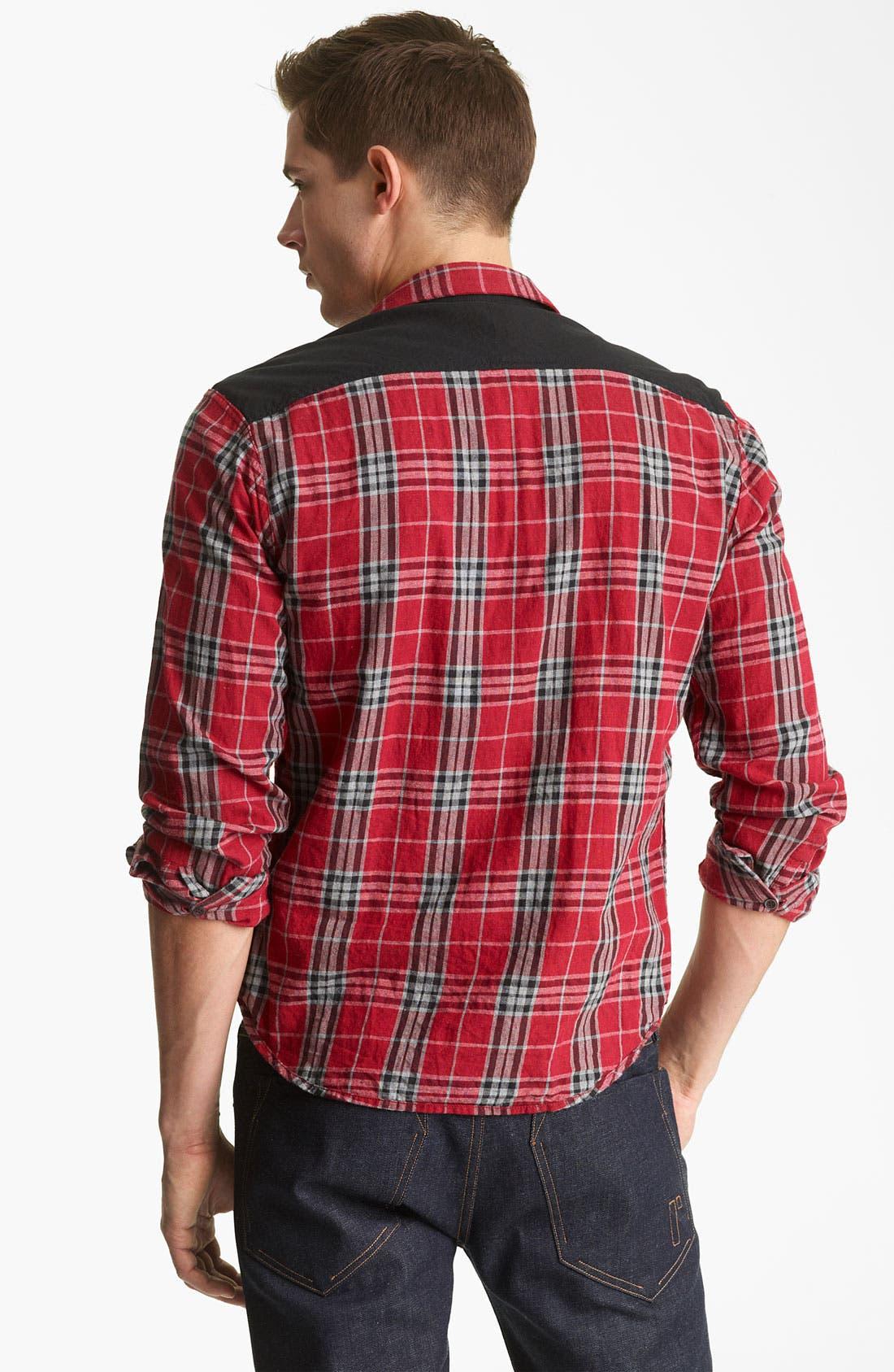 Alternate Image 5  - Rogan 'Isidoud' Reversible Check Sport Shirt