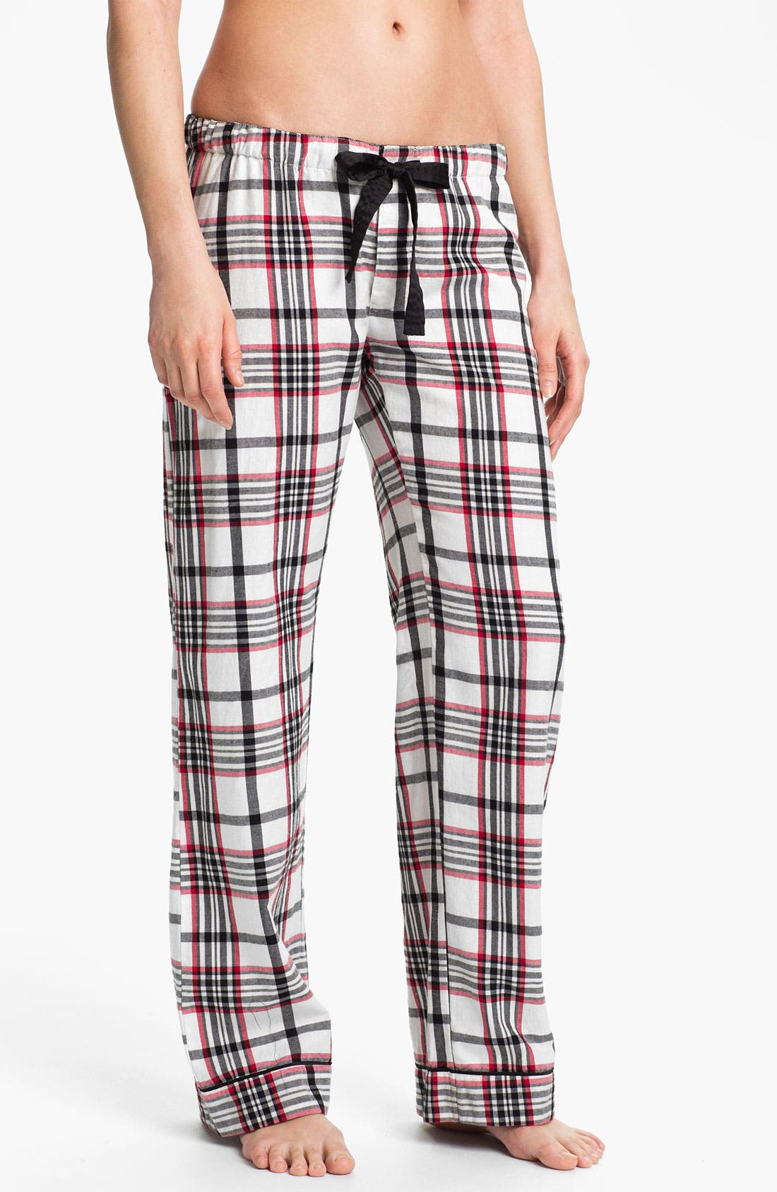Alternate Image 1 Selected - PJ Salvage 'Cherry Cherry' Check Pajama Pants