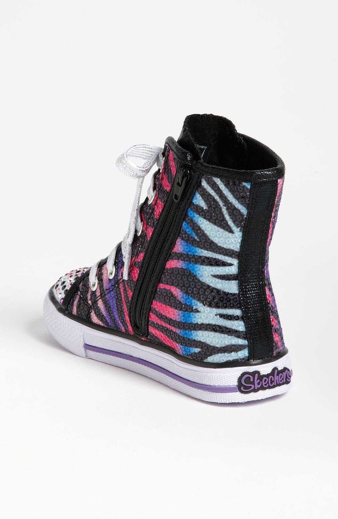 Alternate Image 2  - SKECHERS 'Shuffles - Notorious' Light Up Sneaker (Walker & Toddler)