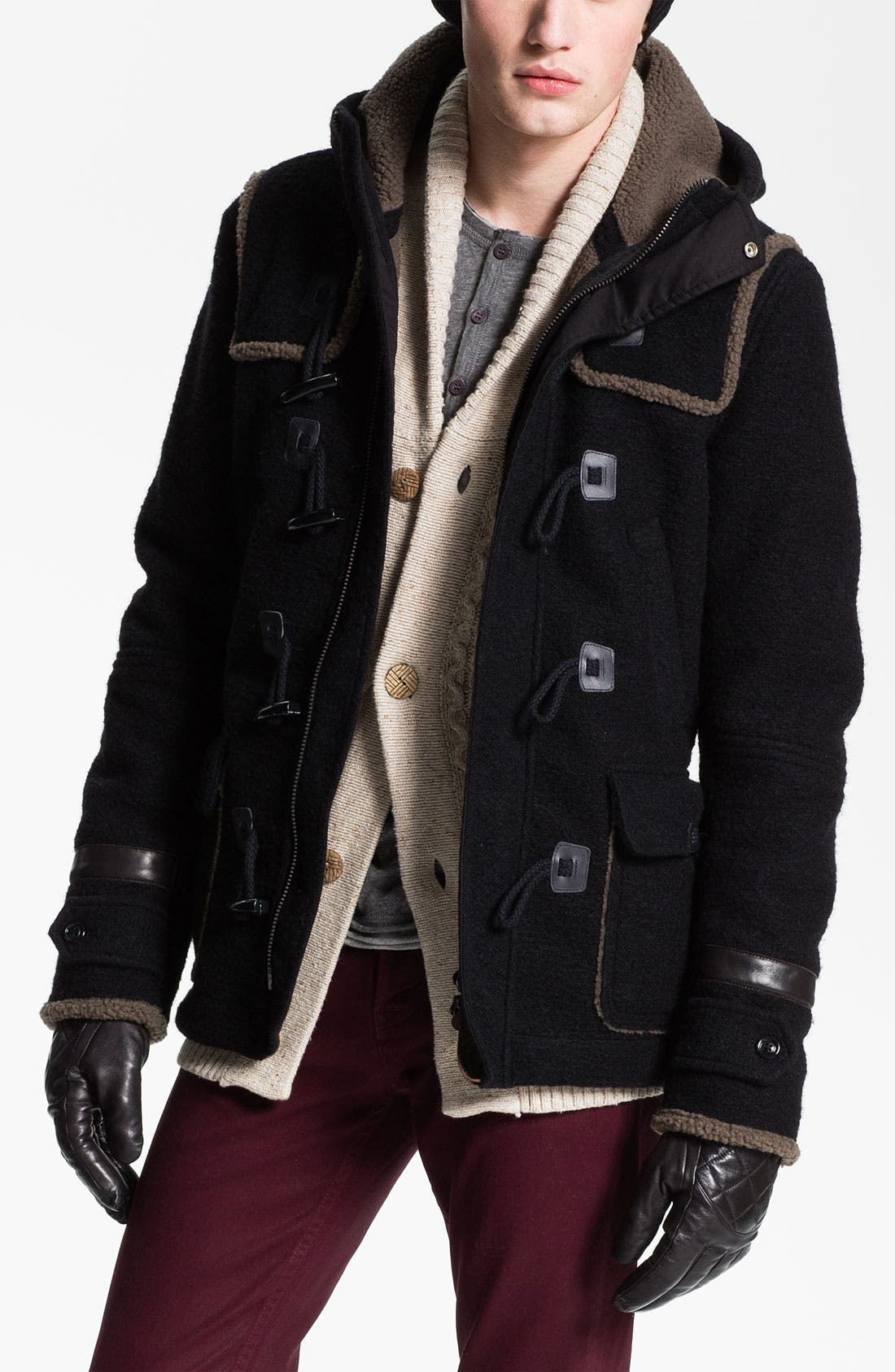Alternate Image 1 Selected - DIESEL® 'Whitaker' Duffle Coat