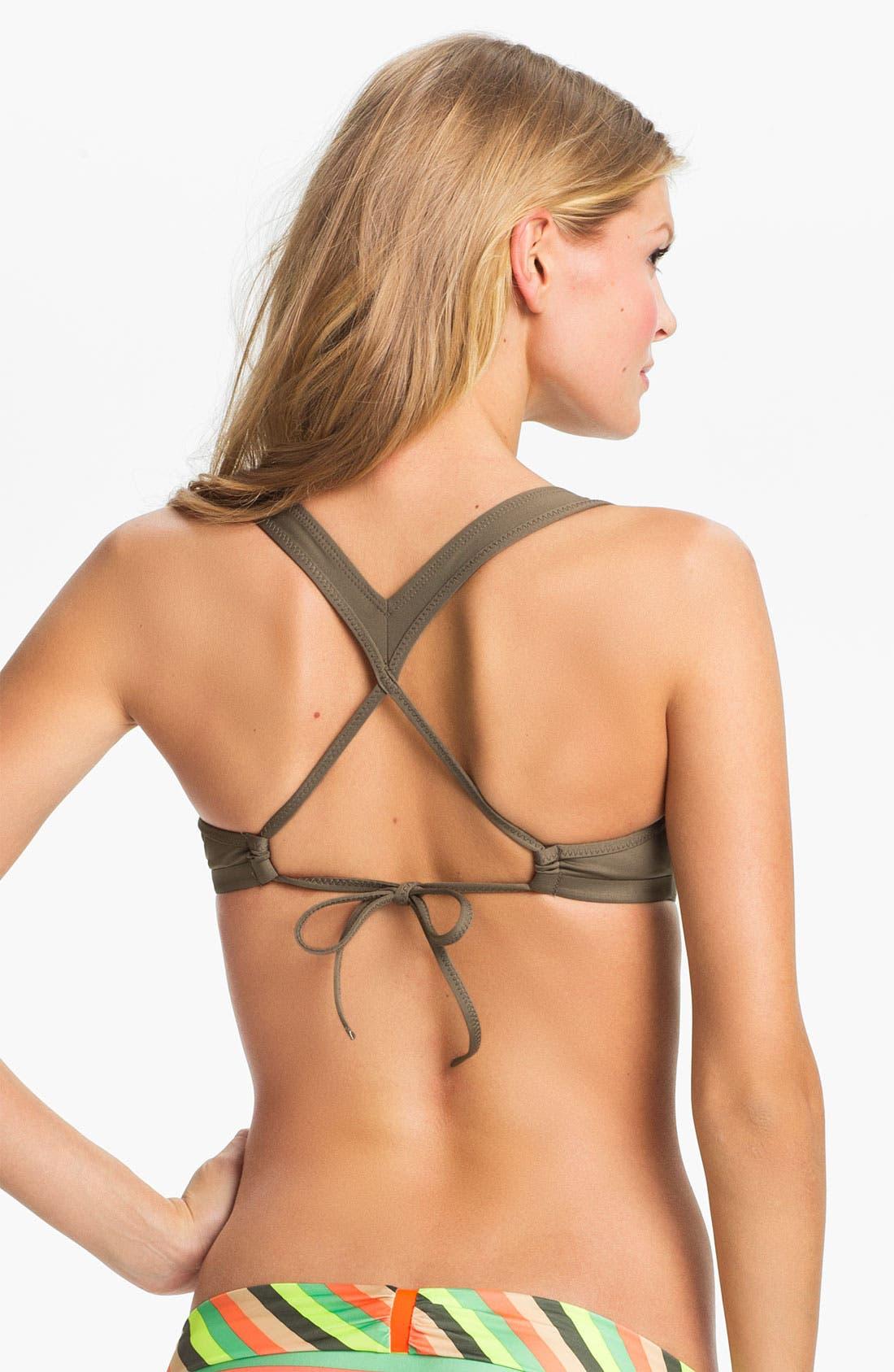 Alternate Image 4  - Nike 'Bondi Solids' Racerback Bikini Top
