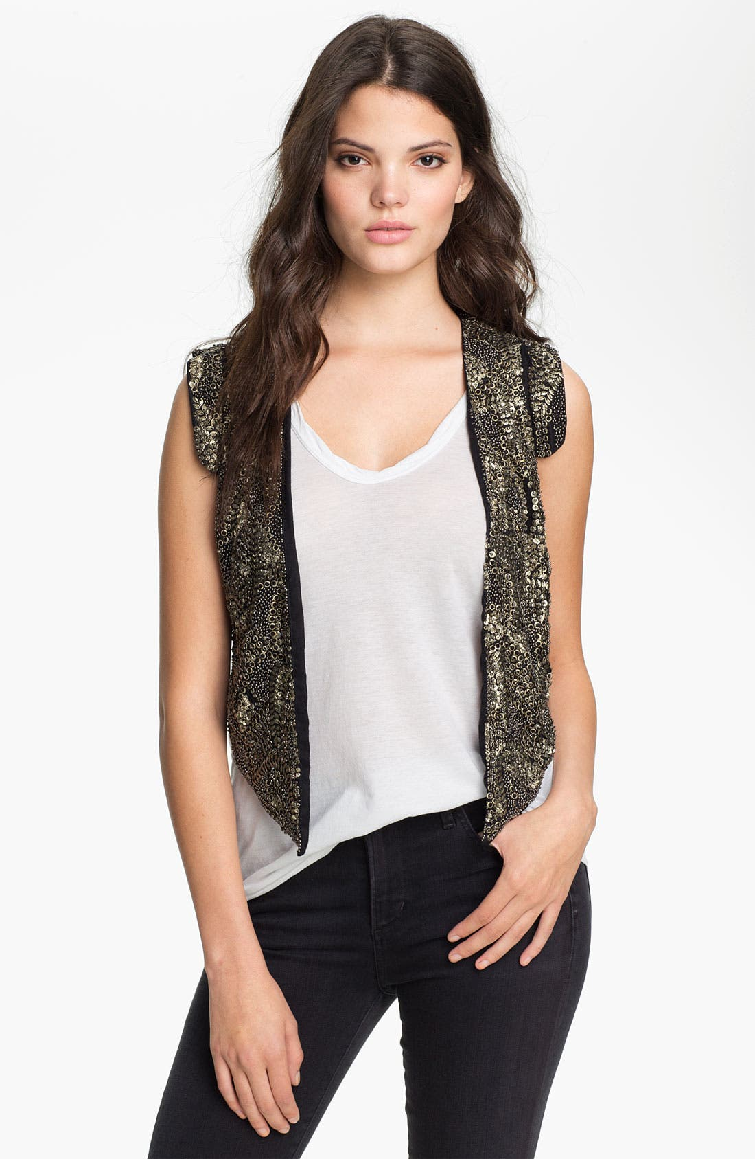 Alternate Image 1 Selected - Maison Scotch Embellished Vest