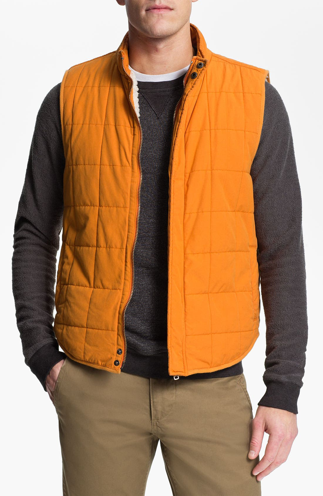 Alternate Image 1 Selected - Splendid Mills 'Wilson' Quilted Cotton Vest
