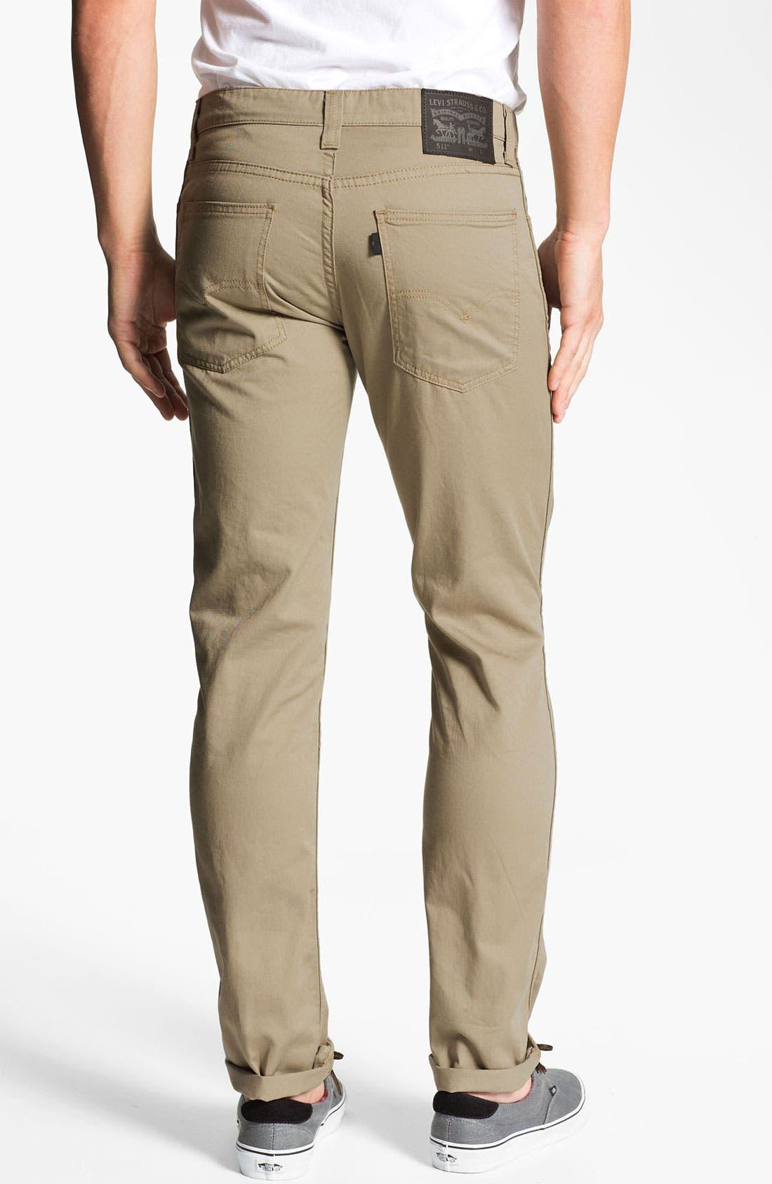 Alternate Image 1 Selected - Levi's® '511™' Skinny Leg Jeans (Ryan)