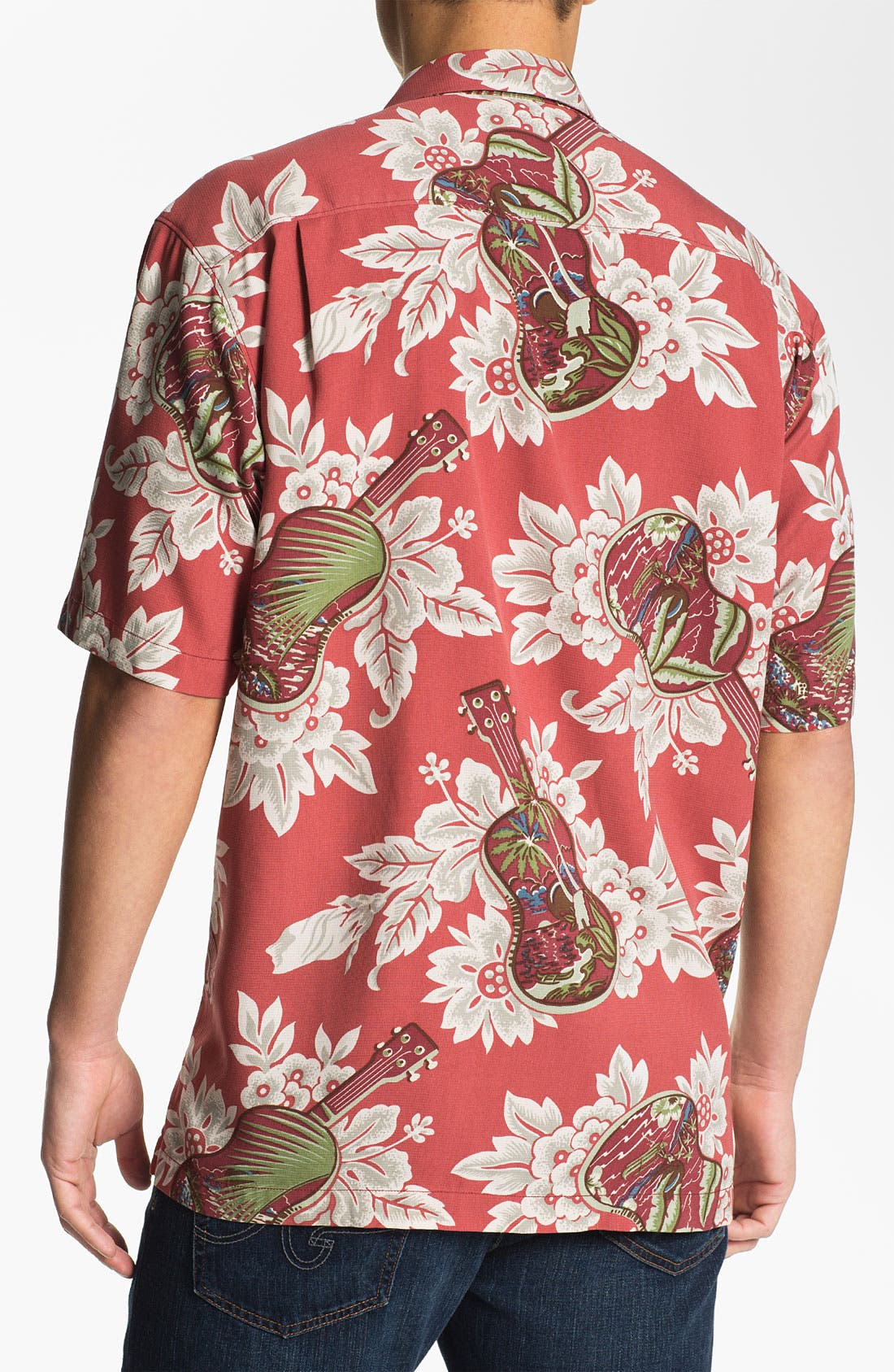 Alternate Image 2  - Tommy Bahama 'Island Jams' Silk Campshirt