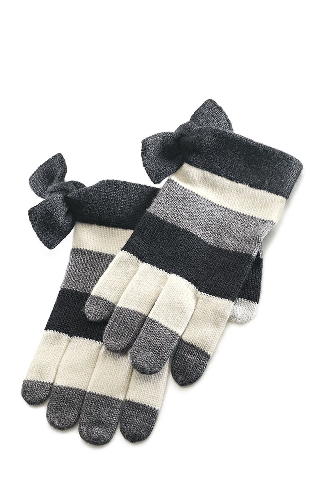 Alternate Image 2  - kate spade new york bow tech gloves