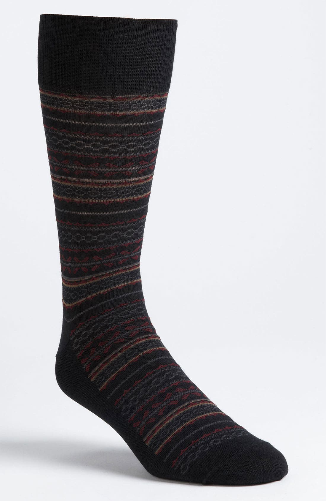 Alternate Image 1 Selected - Cole Haan Stripe Socks