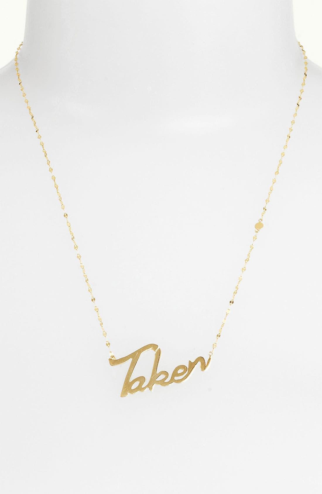 Main Image - Lana Jewelry 'Taken' Charm Necklace