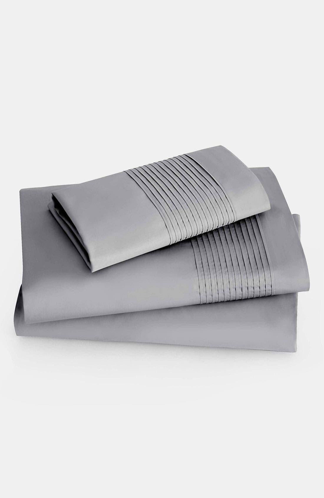 Alternate Image 1 Selected - Donna Karan 'Modern Classics' 400 Thread Count Flat Sheet (Online Only)