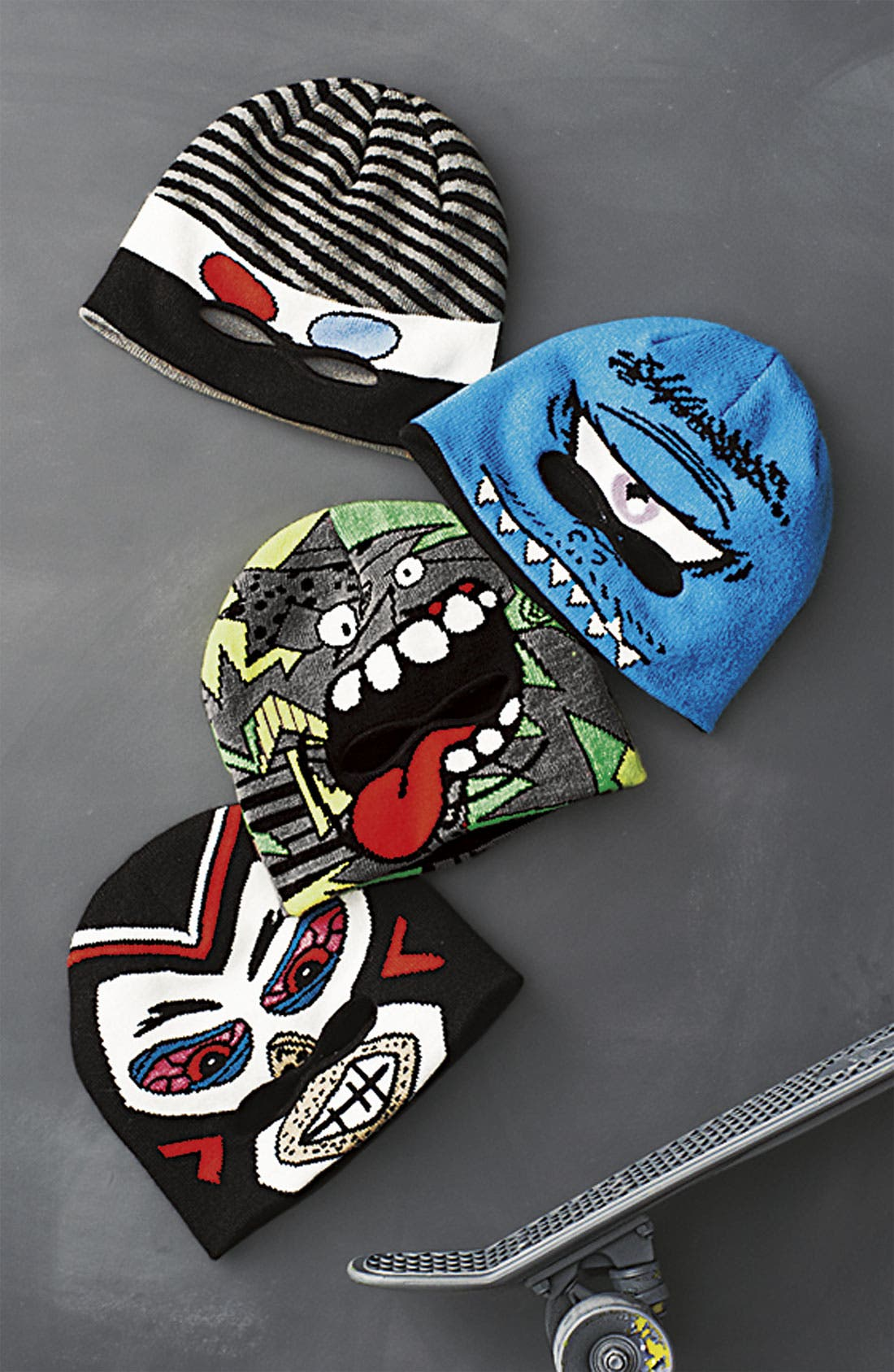 Alternate Image 2  - Volcom 'Make A Face' Beanie (Big Boys)