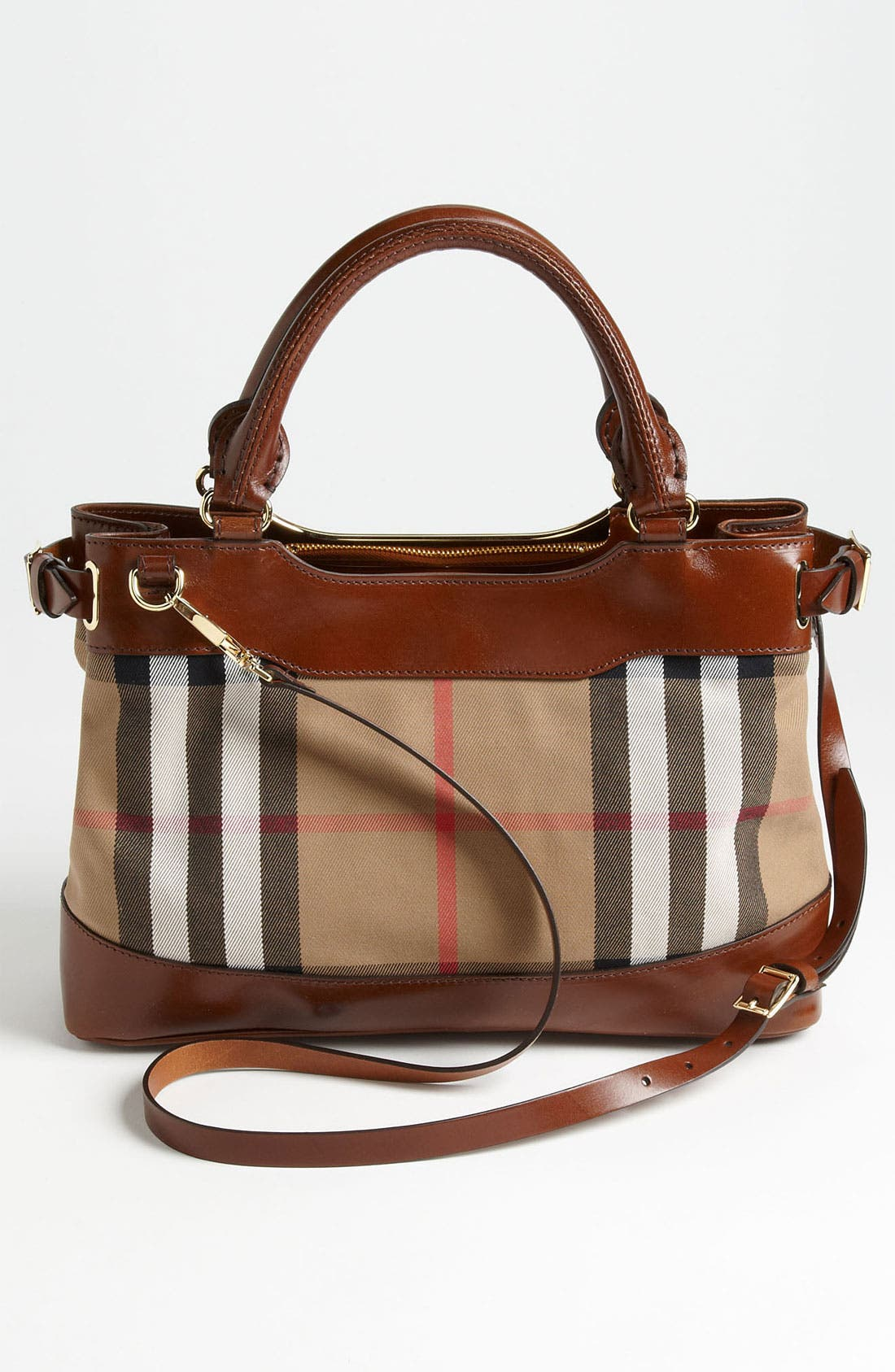 Alternate Image 4  - Burberry 'House Check -Small' Tote