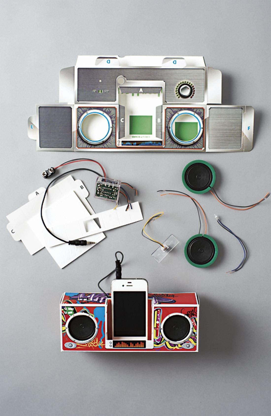 Alternate Image 2  - Smart Lab 'DJ Rock Dock' Paper Speakers
