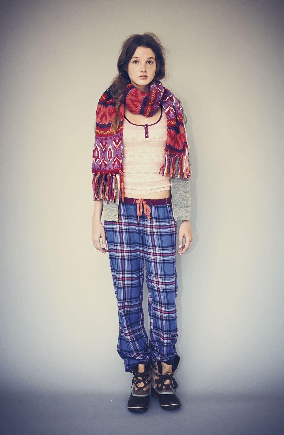 Alternate Image 3  - BP. 'Union' Flannel Lounge Pants (Juniors)