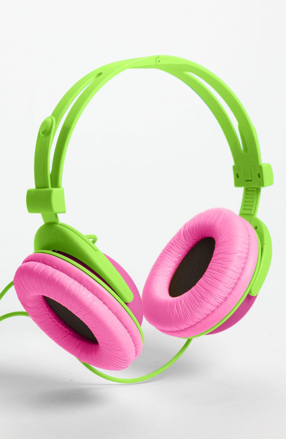 Main Image - Decor Craft Colorblock Headphones