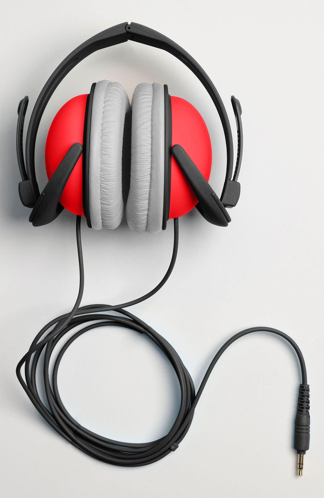 Alternate Image 3  - Decor Craft Colorblock Headphones