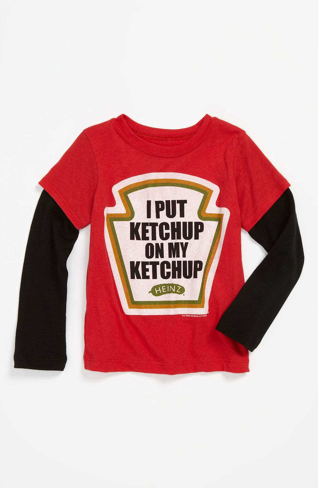 Alternate Image 1 Selected - Mighty Fine 'I Put Ketchup' Tee (Toddler)