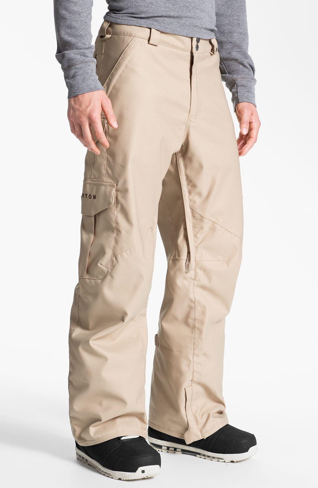 Alternate Image 1 Selected - Burton Cargo Snowboard Pants