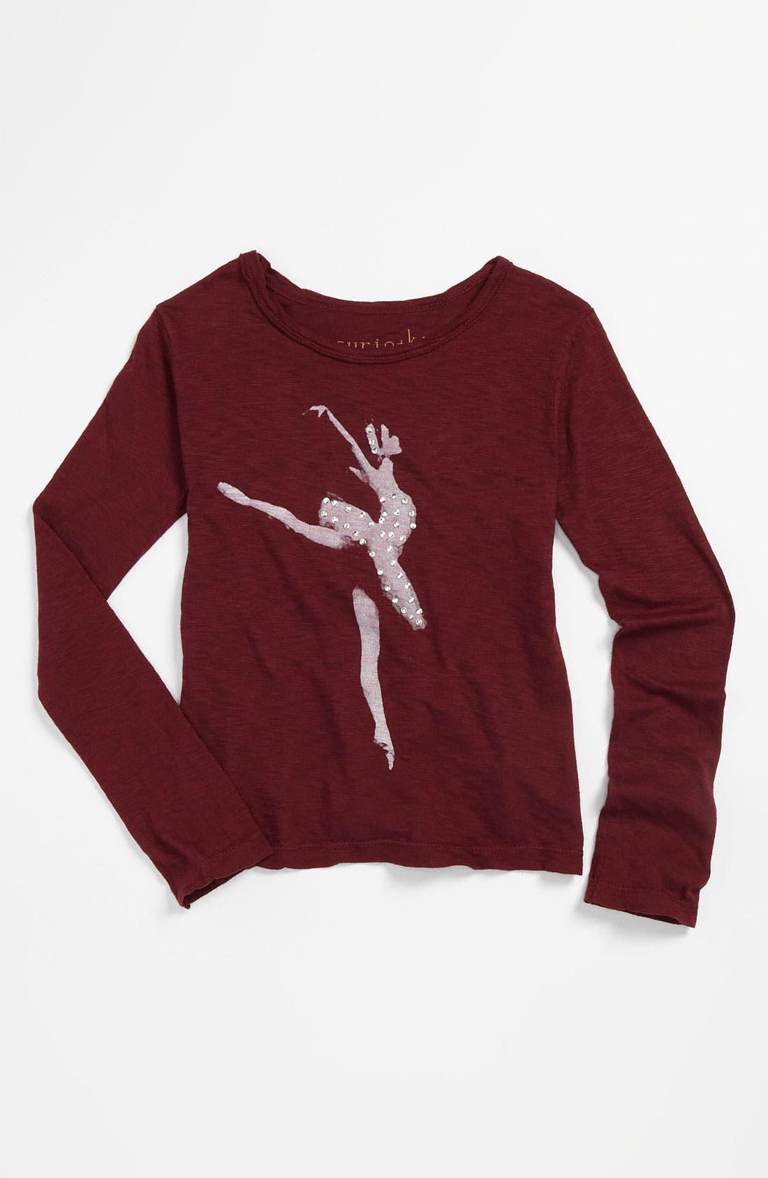 Alternate Image 1 Selected - Curio+Kind Ballerina Tee (Toddler)