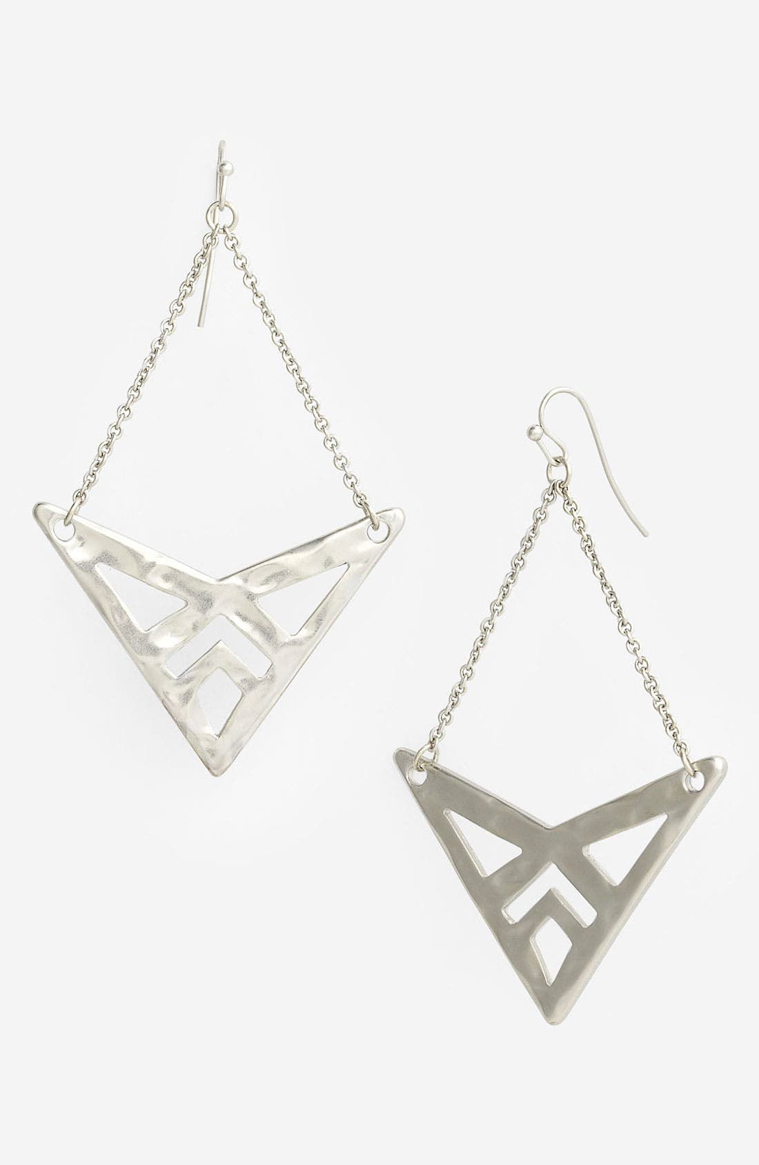 Main Image - Nordstrom Tribal Cutout Drop Earrings