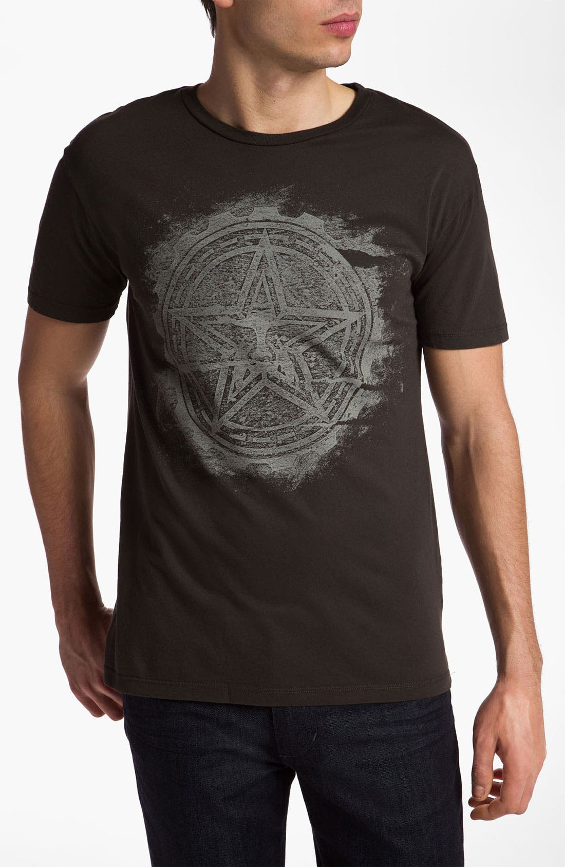Alternate Image 1 Selected - Obey 'Trashed Star' Graphic T-Shirt