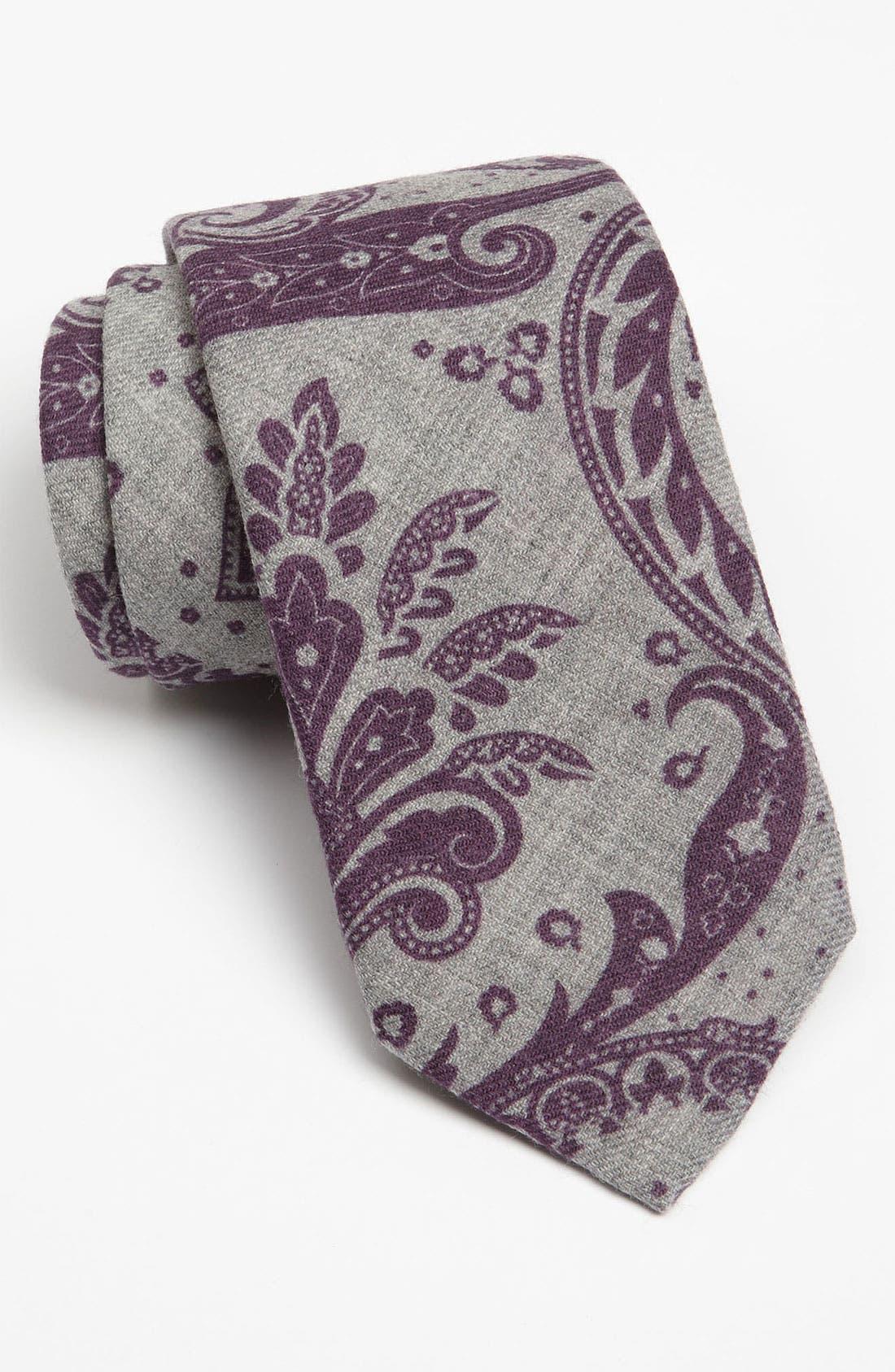 Alternate Image 1 Selected - Robert Talbott Woven Wool Tie