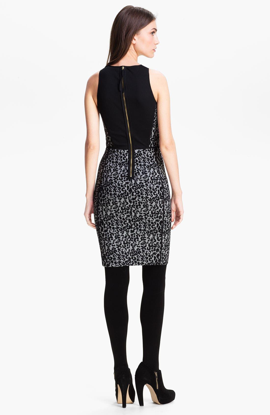 Alternate Image 2  - Rebecca Taylor Knit Sheath Dress